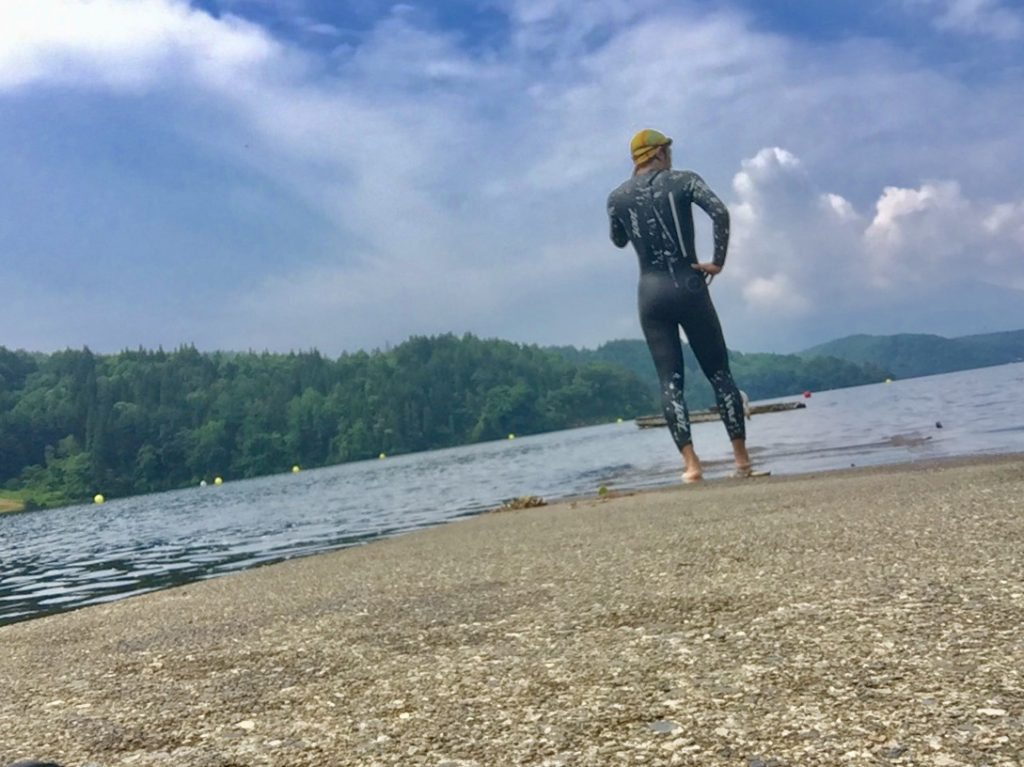 トライアスロン野尻湖